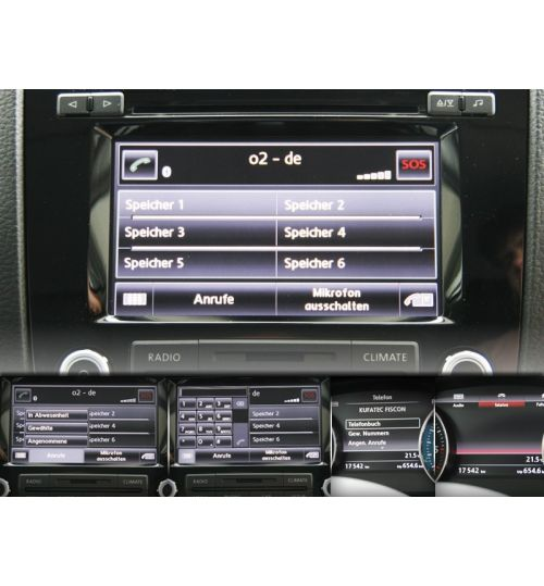 FISCON Bluetooth Handsfree VW Touareg RCD 550