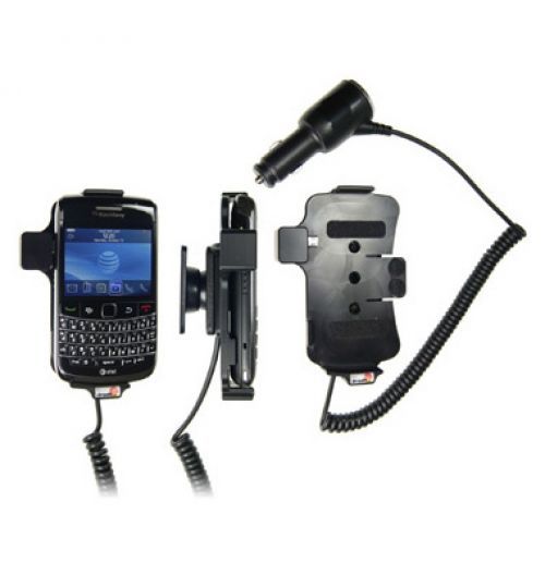 512095 Active holder with cig-plug for the Blackberry Bold 9700, 9780