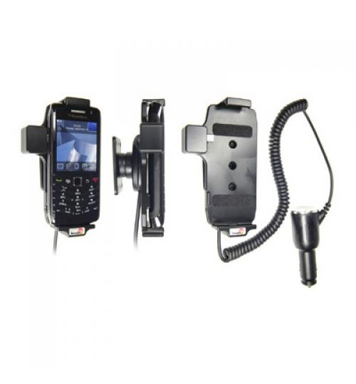 512182 Active holder with cig-plug for the BlackBerry Pearl 9100, 9105