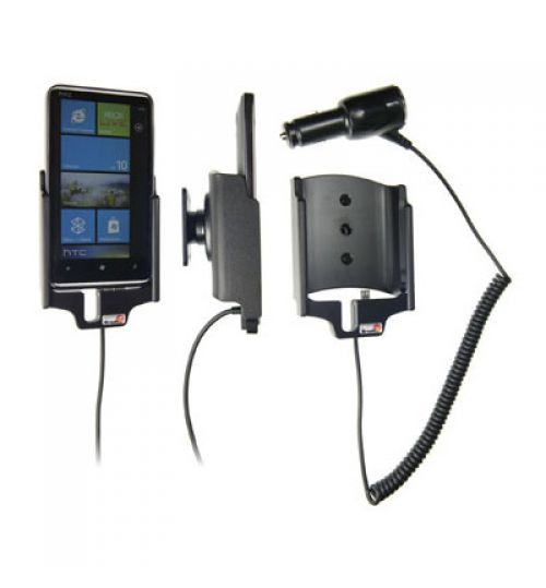 512220 Active holder with cig-plug for the HTC HD7