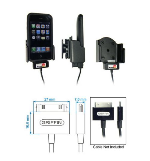 514106 Holder for Cable Attachment for the Apple iPhone 3G/3GS
