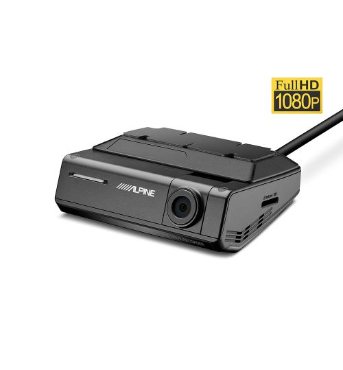 Alpine DVR-C320S Advanced Dash Cam with Driver Assistance (ADAS)