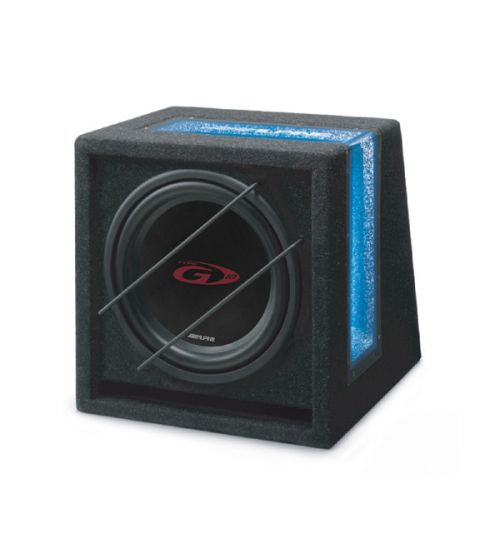 """Alpine SBG-1044BR - Bass Box SWG-1044 10"""" Subwoofer with Enclosure"""