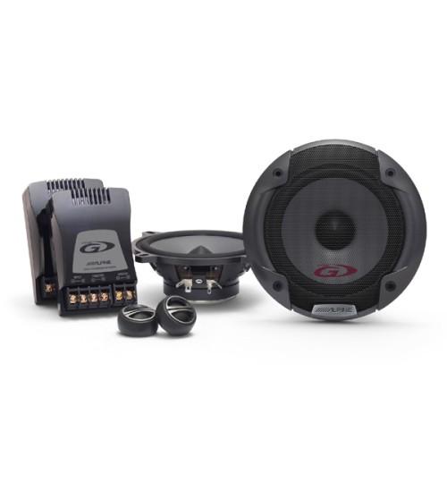 "Alpine SPG-13CS - Type-G Series 5-1/4"" 13cm 2-way 250W Coaxial Component Car Speakers"