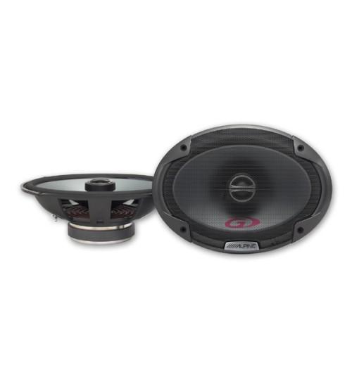 """Alpine SPG-69C2 - Type-G Series 6 x 9"""" 16 cm x 24 cm 2-way 300W Coaxial Car Speakers"""