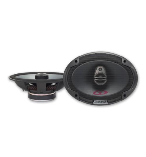 """Alpine SPG-69C3 - Type-G Series 6 x 9"""" 16 cm x 24 cm 3-way 350W Coaxial Car Speakers"""
