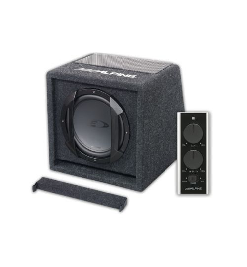"Alpine SWE-815 - 300W 8"" 20cm Amplified Subwoofer Bass Box"