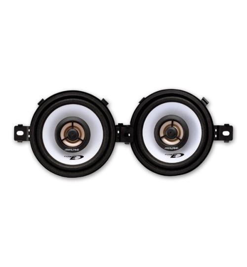 "Alpine SXE-0825S - 3-1/2"" 8.6cm 150W 2-Way Custom Fit Speaker"