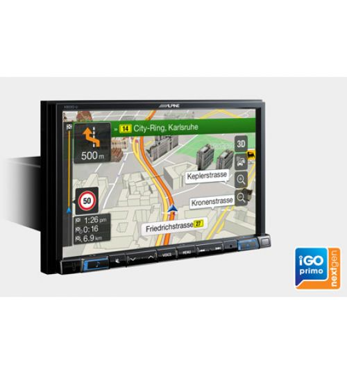 "Alpine X803D-U - 8"" Touch Screen Navigation - Apple Carplay & Android Auto"