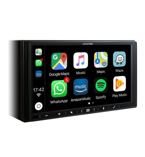 Alpine iLX-W650BT In-Car Audio Entertainment System with Apple CarPlay and Android Auto