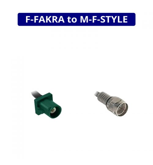 DVB-T Extension - Female Fakra To F Male - 15cm - ANC7581157