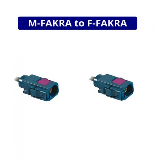 DAB & DVB-T Extension & Power - Male to Female Fakra - 5 Metres - ANC7581195