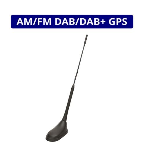 Digital Radio DAB AM/FM & GPS Roof Mount Whip Antenna  - ANC7677840