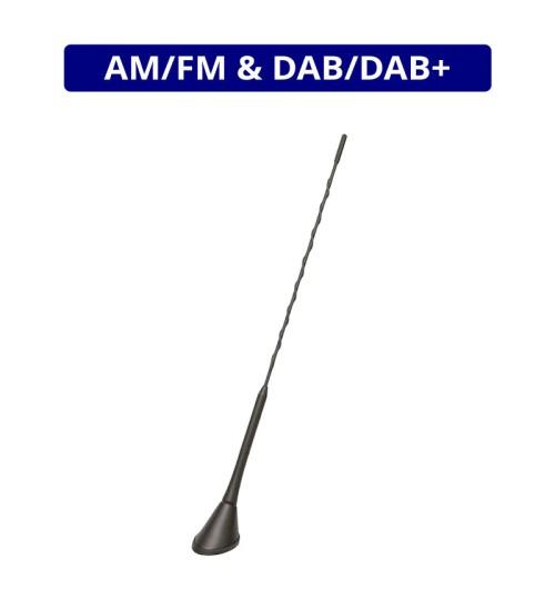 Digital Radio DAB & AM/FM Whip Roof Mount Antenna  - ANC7677850