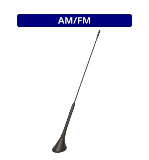 AM/FM Roof Mount Whip Antenna - Phantom Feed - ANC7677872