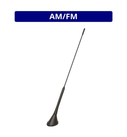 Calearo AM/FM Anti Theft Roof Mount Whip Antenna - Phantom Feed
