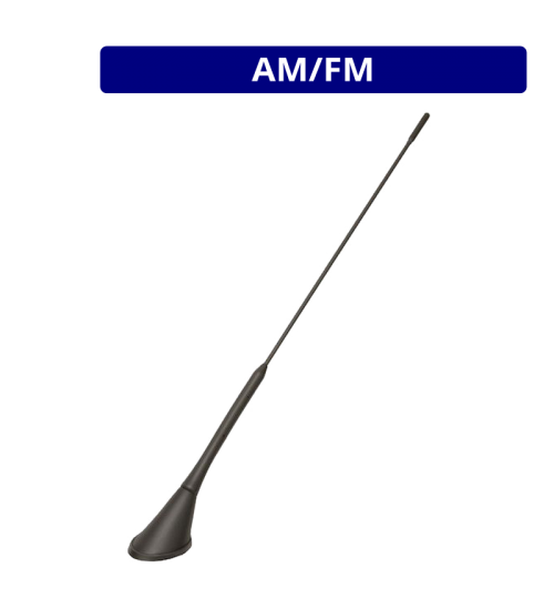 Calearo AM/FM Passive Roof Mount Low Angle Antenna  - ANC7677882