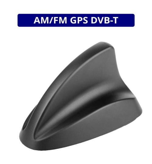 Calearo AM/FM, DVB-T & GPS Active Shark II Fin Antenna  - ANC7727083