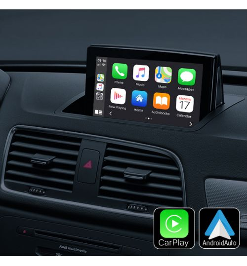 Audi Wireless Apple CarPlay & Android Auto Retrofit Upgrade A1 Q3 2009-2018 MY