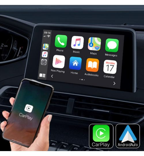 PSA Peugeot Citroen Wireless Apple CarPlay & Android Auto Retrofit Upgrade (NAC)