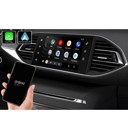 PSA Peugeot Citroen Wireless Apple CarPlay & Android Auto Retrofit Upgrade (SMEG/MRN)