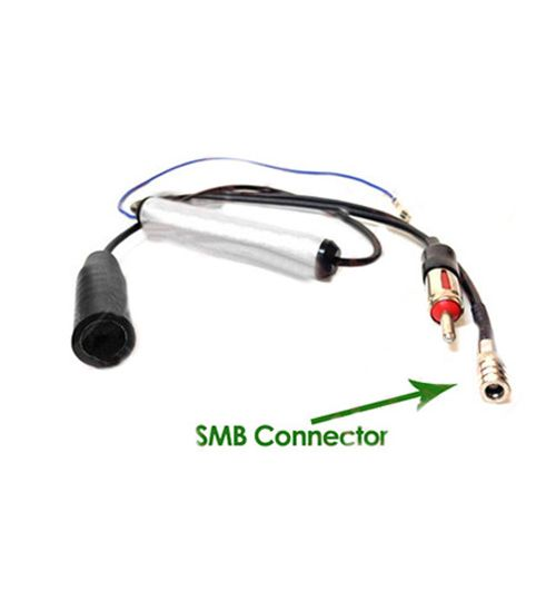Autoleads PC6-536 - DAB Aerial Splitter FM DIN with SMB