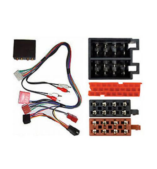 Autoleads Stereo Wiring Harness with Amp For Audi - PC9-408