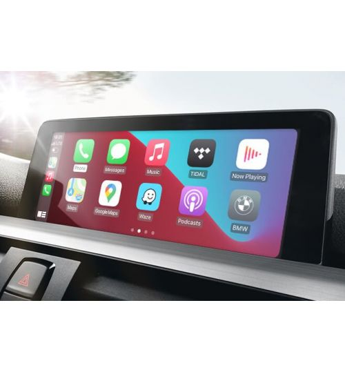 Wireless Apple CarPlay Retrofit for BMW with Siri Voice Control BimmerTech CarPlay MMI Prime