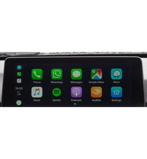 Wired Apple CarPlay Retrofit for BMW with Siri Voice Control BimmerTech CarPlay MMI Plus