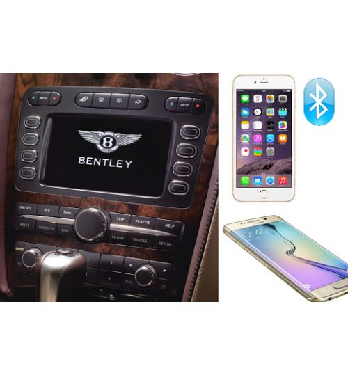 Bentley Continental GT / GTC / Flying Spur Bluetooth Upgrade Kit Fitted