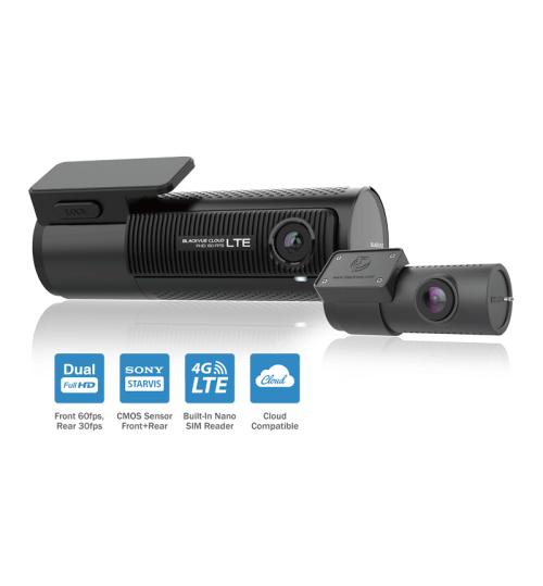 BlackVue DR750-2CH LTE Dual Channel FHD Cloud Dashcam - 1080p