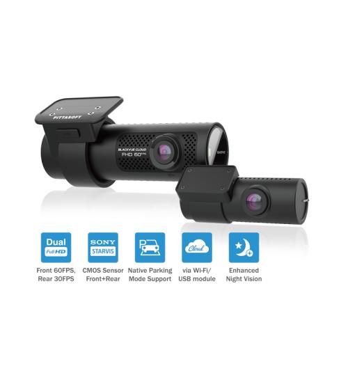 BlackVue DR750X-2CH Dual Channel FHD Cloud Dashcam - 1080p