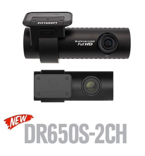 BlackVue DR650S Full HD 2 Channel Front & Rear Dash Cam