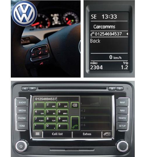 Genuine Volkswagen OEM Latest Bluetooth Handsfree Telephone & Wireless Music Streaming