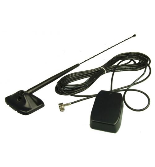 Celsus AN310457202 - Glass Mount External Whip DAB Antenna (SMB Connection)