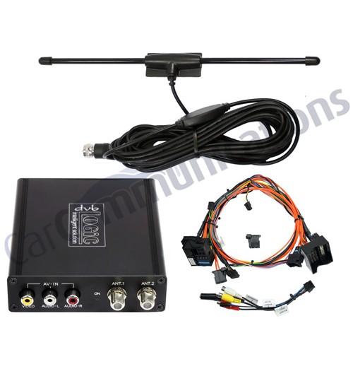 DVB-T Digital TV Tuner Interface iDrive, CCC Vehicles For BMW - DVB-BM3