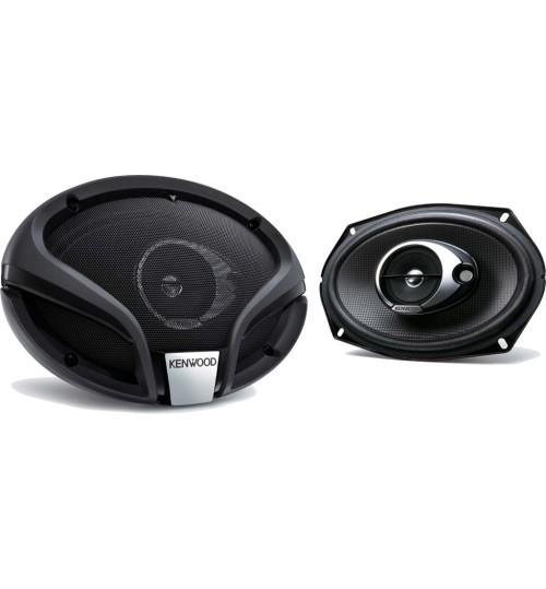 "Kenwood KFC-M6934A - 6x9"" 3-Way 360W Car Audio Flush Mount Speakers System"