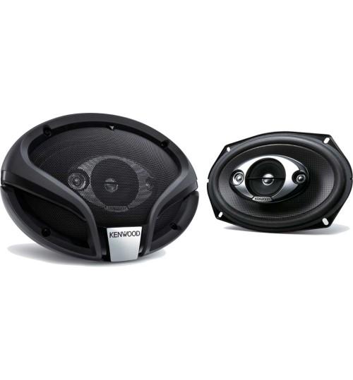 "Kenwood KFC-M6944A - Car Speakers 6x9"" 4-Way Car Audio Flush Mount Speakers System"