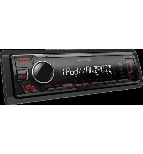 Kenwood KMM-205 Digital Media Receiver with Front USB & AUX Input