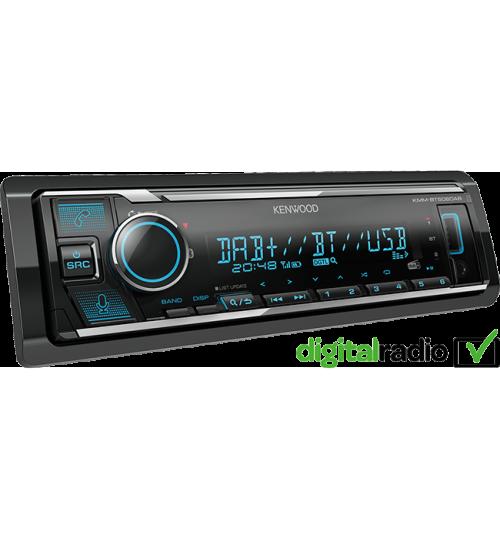 Kenwood KMM-BT506DAB DAB+ Car Stereo with Amazon Alexa