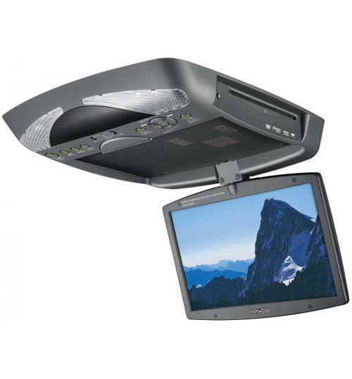 """Kenwood LZH-D120G - 10.2"""" Wide Overhead Monitor with DVD Player"""