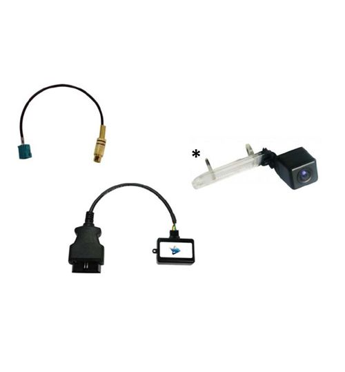 Mercedes Comand NTG2.5 Rear View Camera + Camera Input Interface, Activator - RVC-MB5-KIT