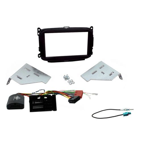 Connects2 Car Stereo Fitting Kit Double DIN Facia Radio Installation For Alfa Romeo - CTKAR08