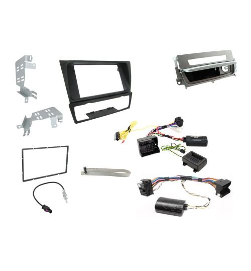 Connects2 Car Stereo Fitting Kit Double DIN Facia Radio Installation For BMW - CTKBM12