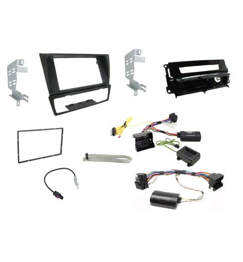 Connects2 Car Stereo Fitting Kit Double DIN Facia Radio Installation For BMW - CTKBM13