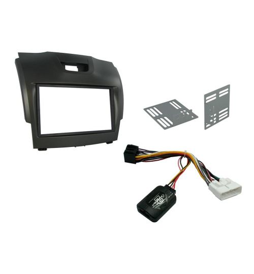 Connects2 Car Stereo Fitting Kit Double DIN Facia Radio Installation For Chevrolet - CTKIZ01