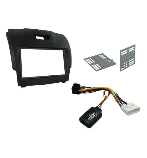 Connects2 Car Stereo Fitting Kit Double DIN Facia Radio Installation For Chevrolet - CTKIZ02