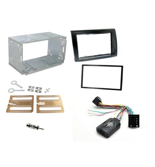 Connects2 Car Stereo Fitting Kit Double DIN Facia Radio Installation For Fiat -  CTKFT07