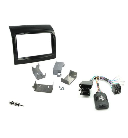 Connects2 Car Stereo Fitting Kit Double DIN Facia Radio Installation For Fiat -  CTKFT09