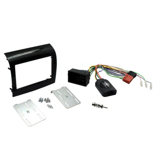 Connects2 Car Stereo Fitting Kit Double DIN Facia Radio Installation For Fiat -  CTKFT10